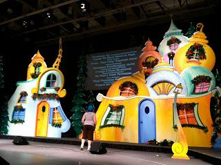 Whoville Christmas Stage Design And Christmas On Pinterest