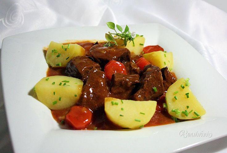 Hovädzie ragú • recept • bonvivani.sk