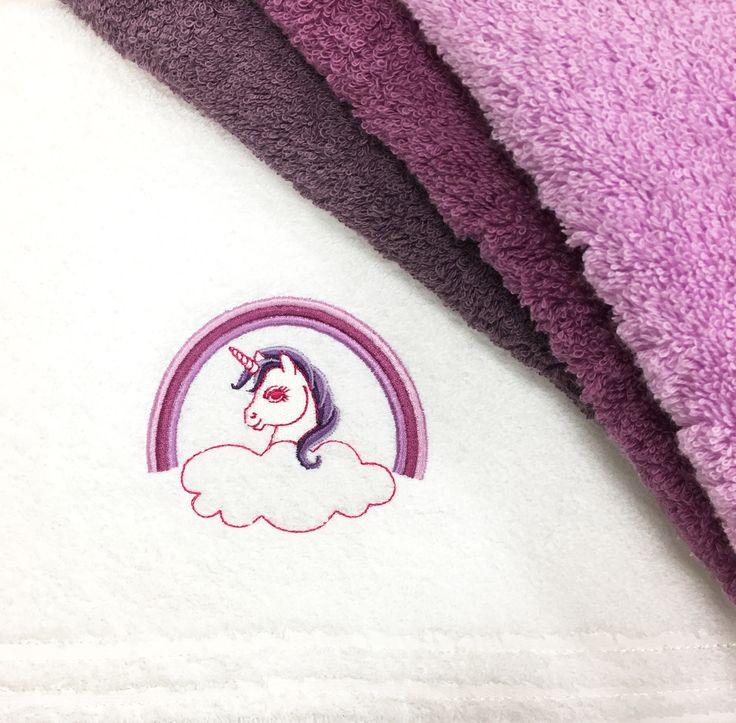 UNICORN! :) #vossentowels #unicorn #towel #rainbow