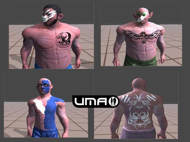 UMA Male Warpaints and Tattoos #Sponsored #, #Ad, #Male#UMA#Warpaints#Characters   – Presentaciones Power Point Templates