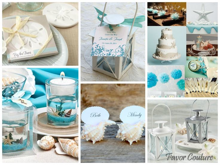 Beach / Summer Favor Ideas - Wedding Favors - Rehearsal Dinner : Favor Couture http://favorcouture.theaspenshops.com