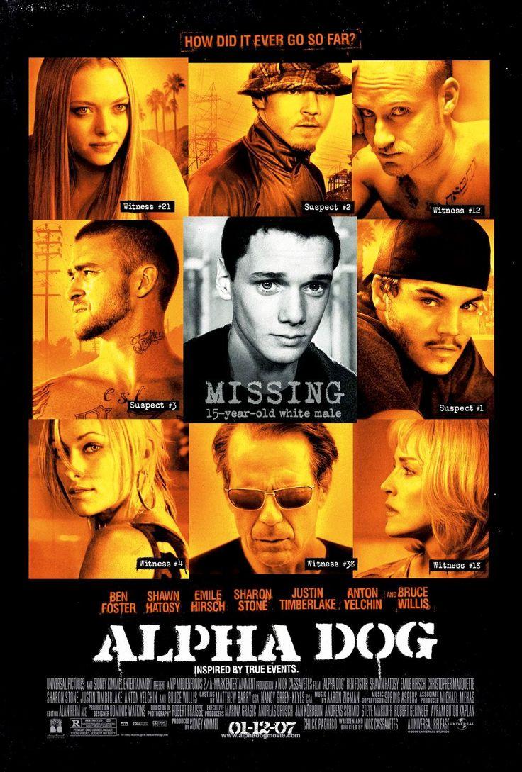 Alpha Dog 2006 Dog Movies Alpha Dog Crime Movies