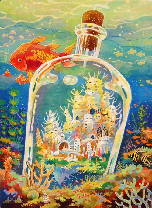 City in a Bottle