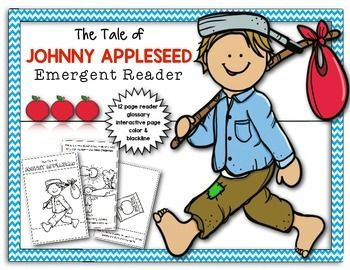 This reader tells in simple terms about a man named John Chapman and how people love his work so much they told tales of him as Johnny Appleseed. I hope your kiddos will love it!