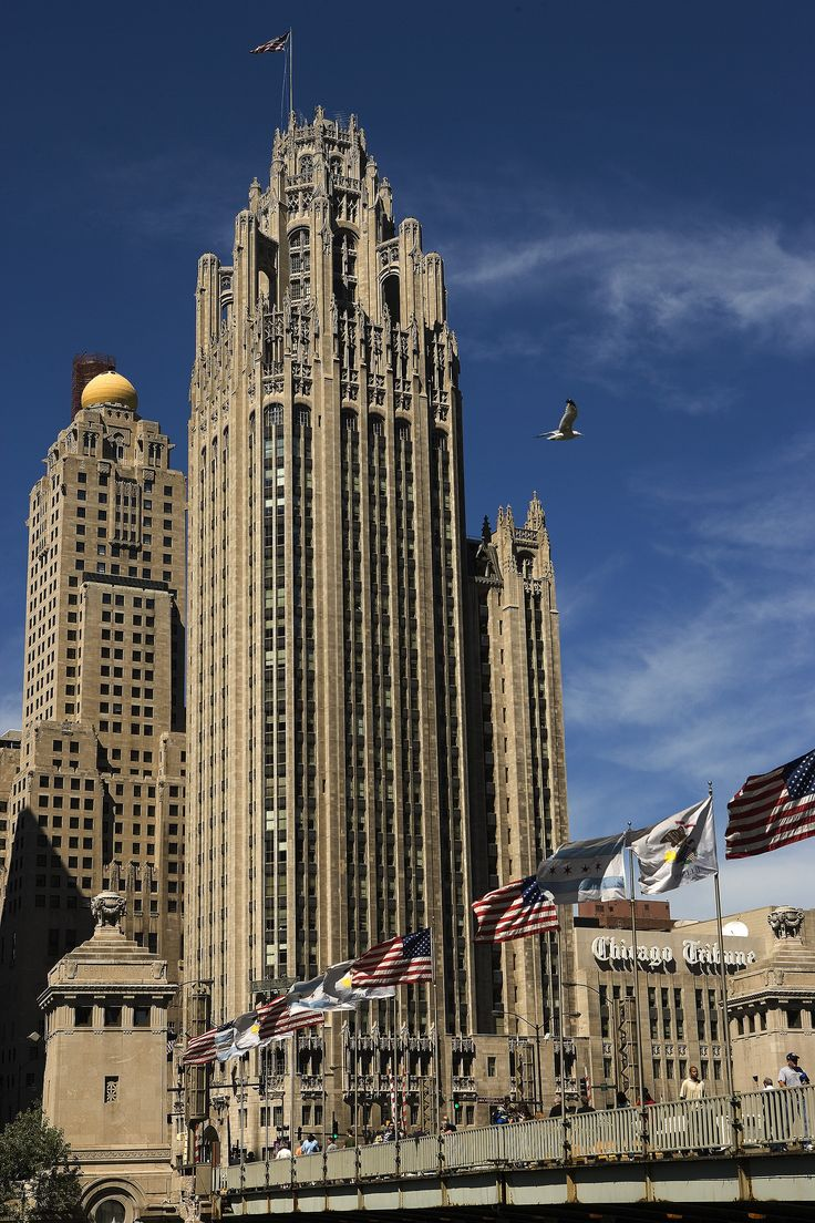 Tribune Tower (1925 By Howells & Hood) €� The Headquarters Of The Chicago  Tribune