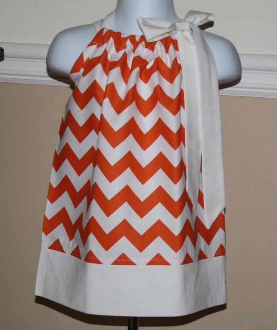 thanksgiving and Tennessee vols little girls handmade childrens chevron pillowcase dress in riley Blake orange & 52 best handmade infant images on Pinterest | Infants Newborns ... pillowsntoast.com