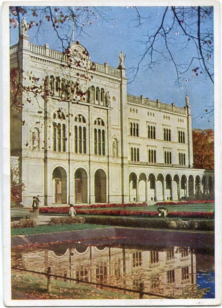 KÖNIGSBERG /Ostpr. Universität Anlagen color 30er Ja. de.picclick.com