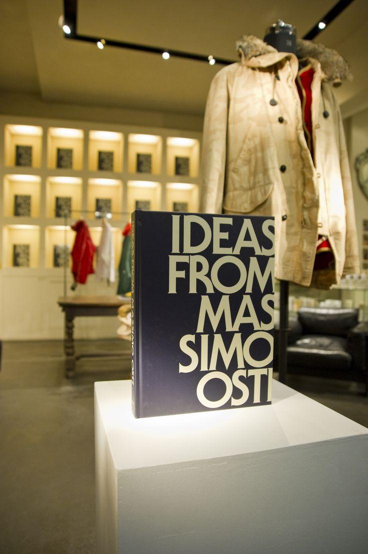 "Book presentation ""Ideas From Massimo Osti""at L'Inde Le Palais, #Bologna 2012"
