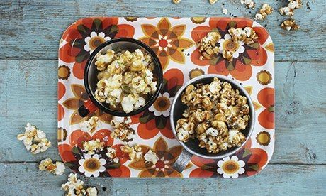 Dairy-free caramel popcorn intwo gourmet flavours   Just as tasty