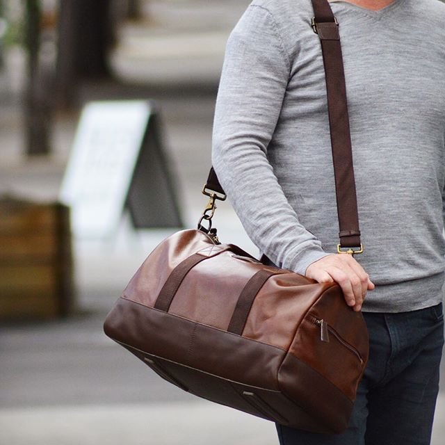 Thank god for the weekend! We are hitting the road with the Henry duffle - available from