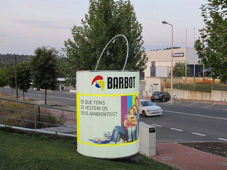 Barbot Estrutura iluminada com impressão... by CdR