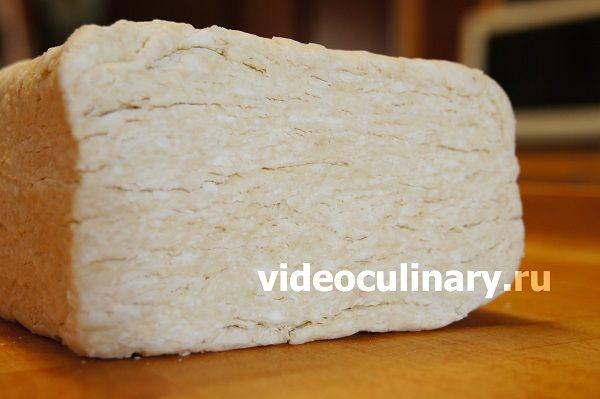 Слоёное тесто - фото-рецепт и видео рецепт