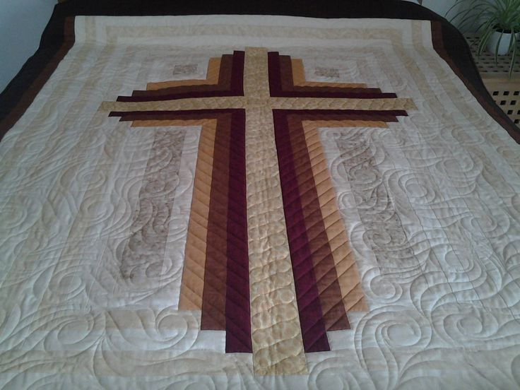 Pin By Quiltfox Design On Quilts Cross Quilt Cross