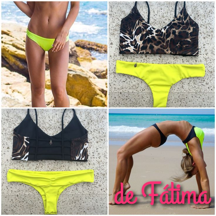 Bikini Leopard Print y Lima