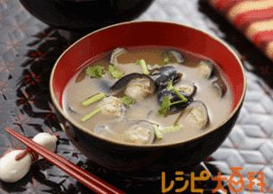 しじみ汁 #recipe #Japanese #miso_soup #shijimi_clam