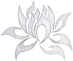 lotus drawing ile ilgili görsel sonucu