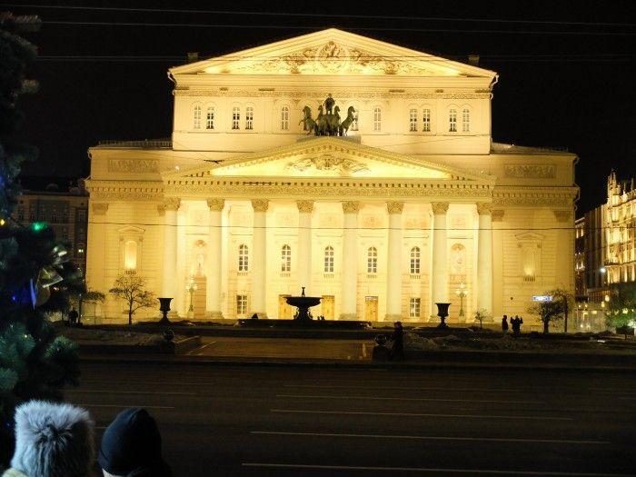 Le théâtre du Bolchoï - ©Salaün Holidays