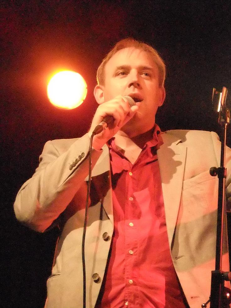 Tim Vine, British pun-master.