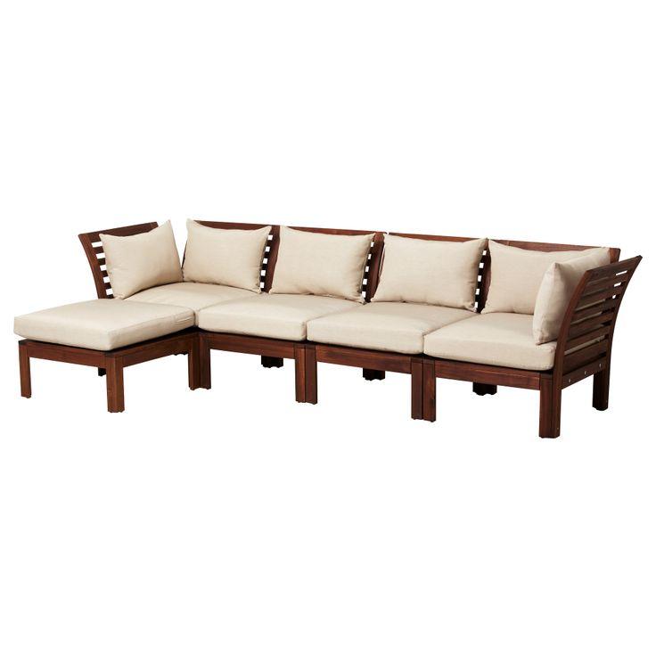 ÄPPLARÖ Sofa combination - IKEA (back deck)