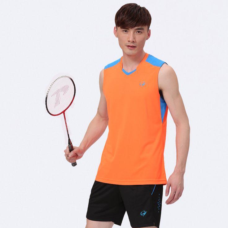 $27.90 (Buy here: https://alitems.com/g/1e8d114494ebda23ff8b16525dc3e8/?i=5&ulp=https%3A%2F%2Fwww.aliexpress.com%2Fitem%2F2015-Li-Ning-Badminton-Set-For-Couples-Quick-Dry-Sport-Shirts-Short-Table-Tennis-Jersey-Top%2F32450157734.html ) 2016 New Men Badminton Sleeveless Shirt Polyester Quick Dry China Jersey Badminton Set Shirt+Short for just $27.90