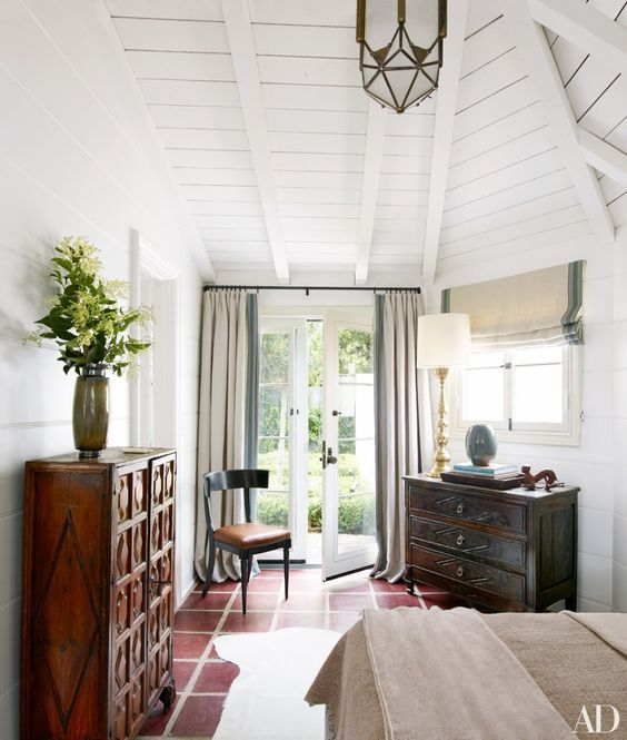 modern rustic comfort meets spanish colonial tradition in the rh pinterest com