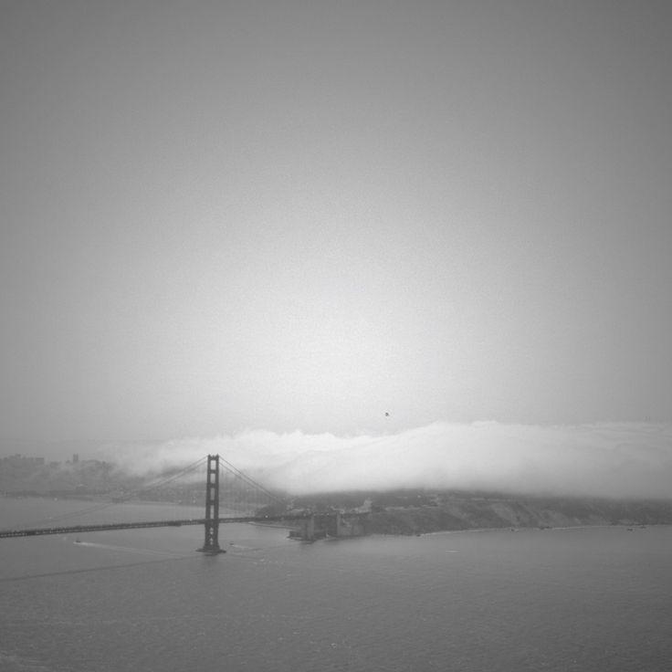 through the fog San Francisco 2013