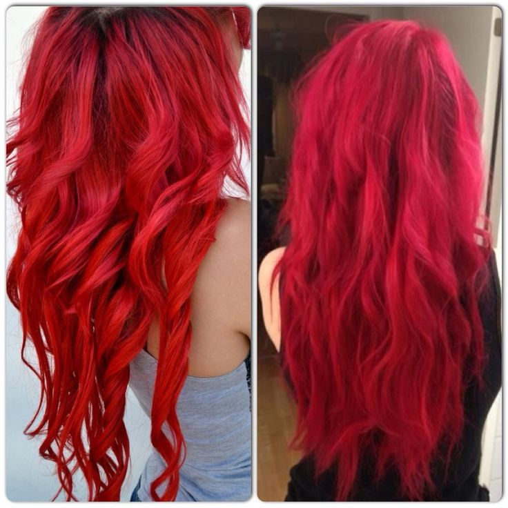Bright Vibrant Red Hair Color   My Style  Pinterest  Colors Hair And Red