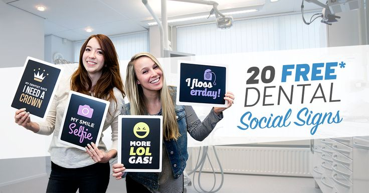 Free Dental Social Sign Pack! - My Social Practice - Social Media Marketing For Dentists, Orthodontists, & Optometrists