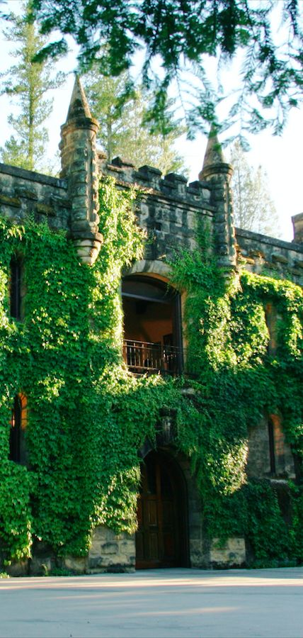 Chateau Montelena Winery in Calistoga, California • photo: Chateau Montelena Winery