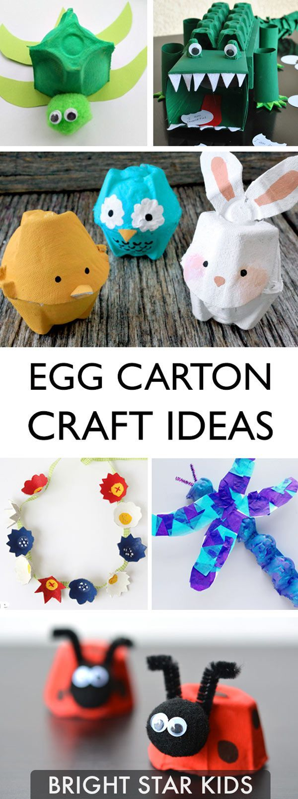 396 best cute craft ideas images on pinterest diy room for Egg carton room