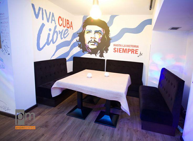 Restauracja loża. http://www.projektmebel.pl/meble-do-restauracji