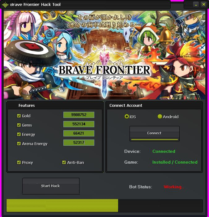 [TOP] Brave frontier hack tool iOS/Android Feel Free Cheats