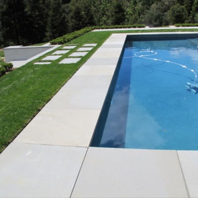 WHITE DIAMOND (SPARKLES) PAVER EXFOLIATED AND BRUSHED LOOKS GREAT AROUND A POOL WITH A BLUESTONE CONTRASTING COPING TILE… INTERNAL OR EXTERNAL APPLICATION OK AS THIS IS A NON SLIP PAVER/TILE. ALSO AVAILABLE IN 800X400X30 BULLNOSING. MATCHING WALL CLADDING AVAILABLE ALSO. PRICED FROM $98 m2 INC GST.500×500 STOCKED (ANY SIZE UP TO 2MTRS X 2MTRS BY REQUEST)