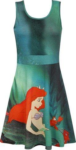 Vestido Disney Ariel