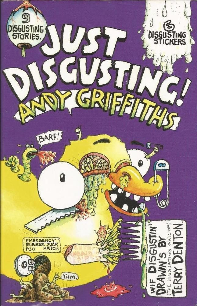 Just Disgusting! by Andy Griffiths by Terry Denton - Paperback  - S/Hand
