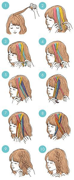 Easy Hair Ideas For School : (notitle