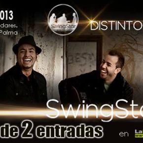 Sorteo de dos entradas para el concierto de SwingStar en La Palma en http://www.larevistadelapalma.com