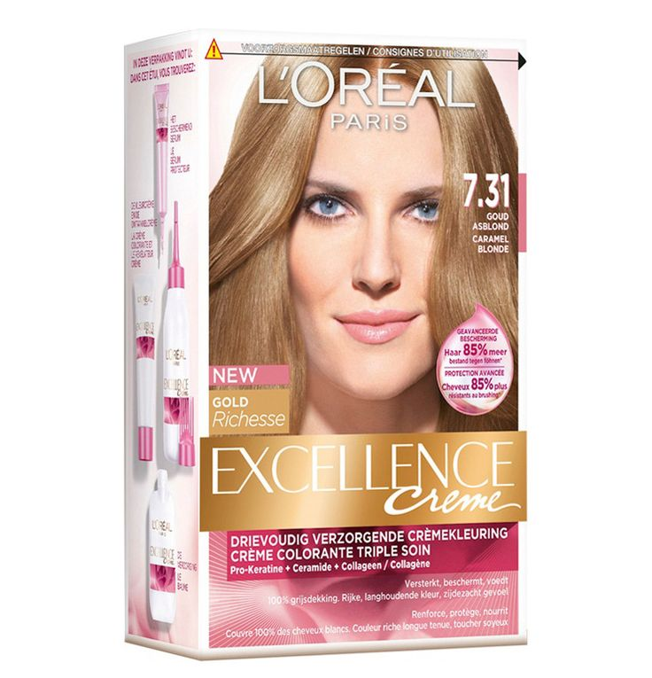 L Oreal Paris Excellence Creme Hair Color 14g No 5 35 Chocolate Brown