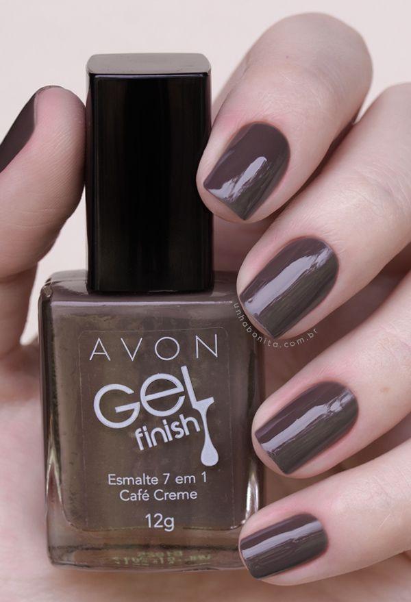 Conheça todas as cores da coleção Avon Gel Finish!