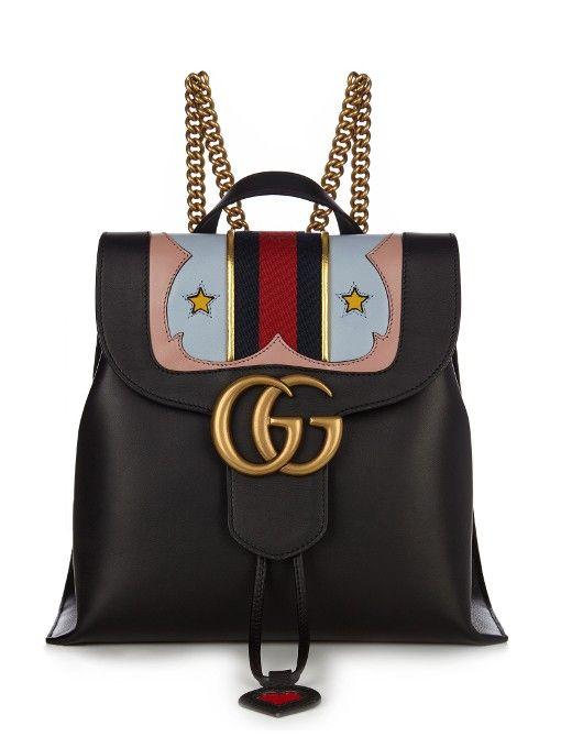 Gucci GG Marmont leather backpackMichelle Mongelluzzo
