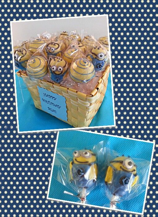 Despicable Me: Minions Party, Minion Birthday, Bday Minion, Clever Cake, Cake Pops, Minion Party, Despicable Me Cake