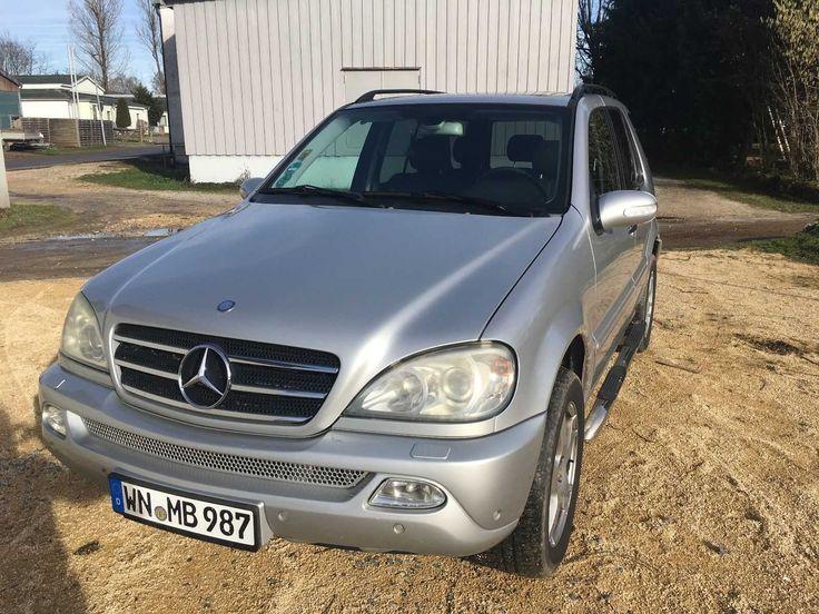 Mercedes ML 400 CDI, Bj 8 2002 Tüv ,Reifen,Insp neu,270 tkm,Euro 4,Kein Rost,