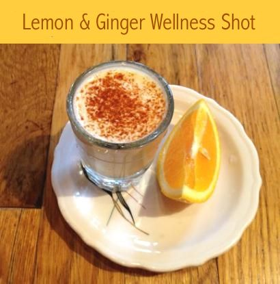 Ginger Shot Slow Juicer : How to Make A Lemon And Ginger Wellness Shot Whole Food and Whole Health Pinterest Honey ...