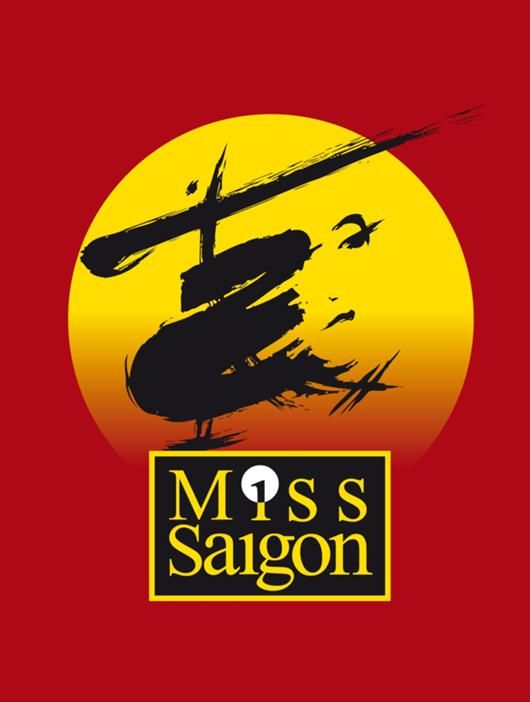 Someday I'll see all the Broadway shows I love, and have posters of them in my recreation room... :) Miss Saigon. jdfhiohdkkjs I bet it was freakin' awesome when Lea was still in it.