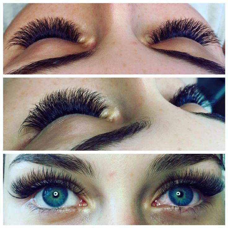 2D volume lash extensions by Nicole @nicole_nails_lashes  - UtahLashLady.com