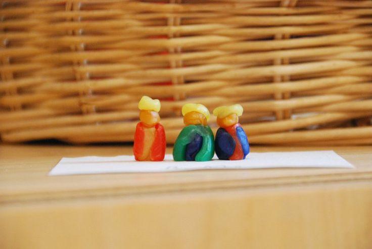 2de klas Boetseren met bijenwas www.steinerschoolturnhout.be