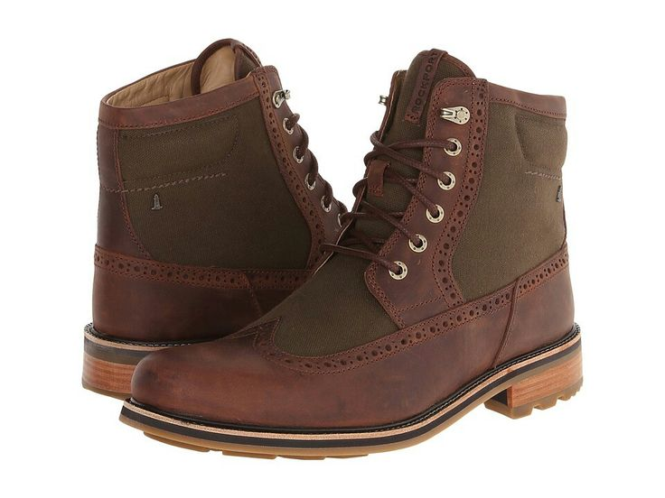 Rockport Break Trail Too Wingtip Tall Boot 6 Eye, Rockport, Shoes