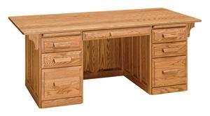 Amish Office Furniture Classic Executive Desk