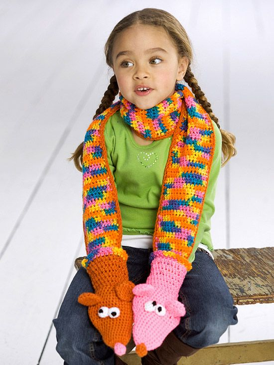 Adorable Puppet Scarf