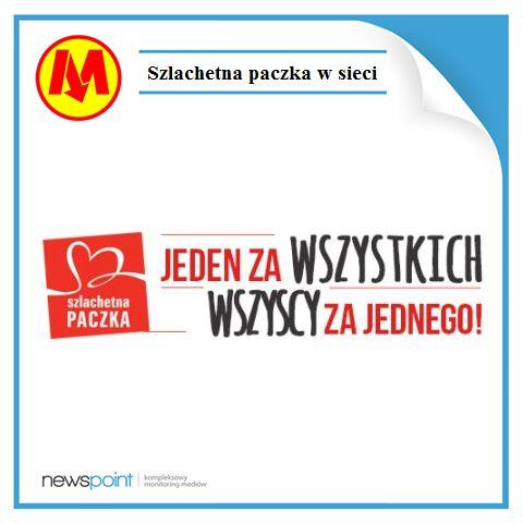 Dzisiaj w metrze możecie spotkać naszą notatkę o Szlachetnej Paczce 2015. Polscy internauci bardzo chętnie wspierają i komentują akcję - średnio dziennie na temat inicjatywy pisano ponad 1000 razy!